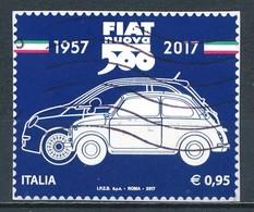 °°° ITALIA 2017 - FIAT 500 °°° - 6. 1946-.. República
