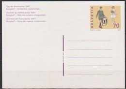 Schweiz Ganzsache1997 Nr.P 258 Ungebraucht Tag Der Briefmarke (PK193)günstige Versandkosten - Stamped Stationery