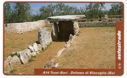 *ITALIA: VIACARD - A14 TRANI-BARI - DOLMEN DI BISCEGLIE (L.50000)* - Usata - Ohne Zuordnung