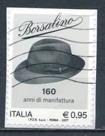 °°° ITALIA 2017 - BORSALINO °°° - 6. 1946-.. República
