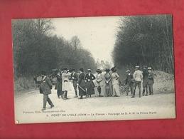 CPA - Forêt De L'Isle Adam - La Chasse - Equipage De S.A.M. Le Prince Murat - - L'Isle Adam