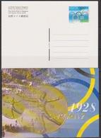 Schweiz Ganzsache1998 Nr.P 261/01 Ungebraucht Olympische Ringe (PK196)günstige Versandkosten - Stamped Stationery