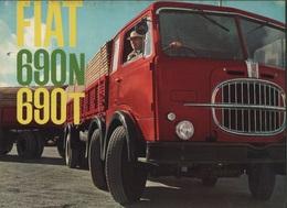 """08974 """"FIAT 690N E 690T"""" PIEGH. ORIGINALE - Trucks"""