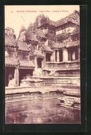 AK Angkor-Wat, Galerie Et Piscine - Cartes Postales