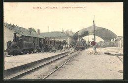 CPA Moulins, Interieur De La Gare - Moulins