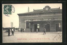 CPA Choisy-le-Roi, La Gare Et Le Pont Du Chemin De Fer - Choisy Le Roi
