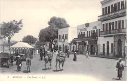 Assuan Les Rues Du Nil Pres Du Khedivial-Hotel - Aswan