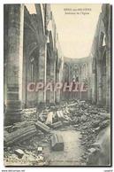 CPA Menil Sur Belvitte Interieur De L'Eglise - France