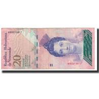 Billet, Venezuela, 20 Bolivares, 2009, 2009-09-03, KM:91d, TTB - Venezuela