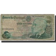 Billet, Portugal, 20 Escudos, 1978-10-04, KM:176b, B - Portugal