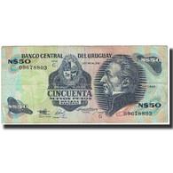 Billet, Uruguay, 50 Nuevos Pesos, Undated (1989), KM:61a, TTB - Uruguay