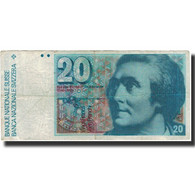 Billet, Suisse, 20 Franken, KM:55h, TB - Suisse