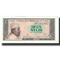 Billet, Guinea, 2 Sylis, Undated (1981), KM:21a, NEUF - Guinée