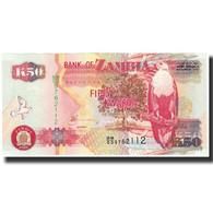 Billet, Zambie, 50 Kwacha, 2008, KM:37f, NEUF - Zambie