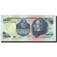 Billet, Uruguay, 50 Nuevos Pesos, Undated (1988), KM:61a, NEUF - Uruguay