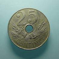 Spain 25 Centimos 1927 - [ 2] 1931-1939 : République