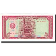 Billet, Cambodge, 50 Riels, Undated (1979), KM:32a, NEUF - Cambodge