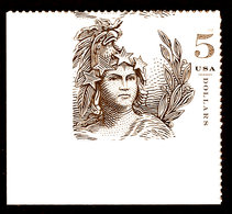 USA, 2018, #5297, Statue Of Freedom, $5 Single , MNH, VF - Etats-Unis