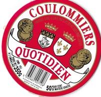 COULOMMIERS QUOTIDIEN ( MONNAIES, BLASONS D ANJOU ET DE PARIS ) VOIR LE SCANNER - Fromage