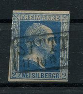 Preussen: 2 Sgr. MiNr. 7 1856 Gestempelt / Used / Oblitéré - Preussen