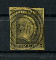 Preussen: 3 Sgr. MiNr. 4 1850 Gestempelt / Used / Oblitéré - Preussen
