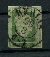 "Preussen: 4 Pfe. MiNr. 5 1856 Einkreisstempel ""Berlin""  Gestempelt / Used / Oblitéré - Preussen"