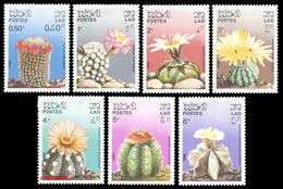 69 - Laos 1986 - YT 706/712 ; Mi 952/958  ** MNH   Cactus - Laos