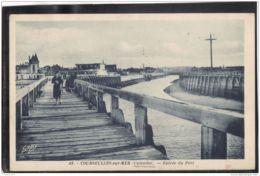 14299 . COURSEULLES SUR MER . ENTREE DU PORT . CIRCULEE EN 1942 - Courseulles-sur-Mer