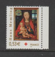 FRANCE / 2005 / Y&T N° 3840 ** : Croix-Rouge (Vierge à L'Enfant Par Memling) X 1 BdC D - Nuovi