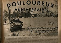 """""""De BASTOGNE à WASHINGTON – A La Gloire De La 101e Airborn» Article In «Le Soir Illustre N° 733 (1946)» - 1939-45"""