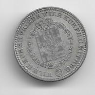 6e De Taler D'argent De Hesse-Kassel 1843 - [ 1] …-1871 : Etats Allemands