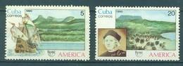 1990 America - The Natural World  (MNH)  - Ships, Christopher Columbus - Christophe Colomb
