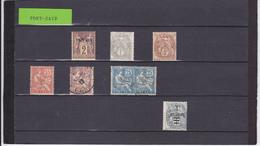 UN LOT DE 7 TIMBRES NEUFS**, NEUFS*, OBLITéRéS - Port-Saïd (1899-1931)