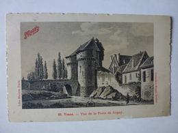 CPA, JOIGNY, VUE DE LA PORTE DE JOIGNY, VOIR SCAN - Joigny