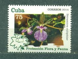 2014 Orchid  (MNH)  - Flowers, Orchids - Végétaux