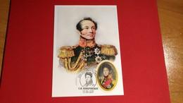NAPOLEON / / CAMPAGNE DE RUSSIE / GENERAL KOMAROVSKY / CARTE MAXIMUM - Napoleon