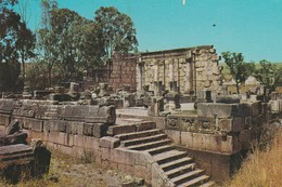 YB / ISRAEL . JUDAÏCA Edit.PALPHOT N°5375   Cpsm 9X14 .CAPERNAUM. Ancient Synagogue - Judaisme