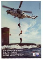 CP Marine Nationale, Sous-marin, Bateau, Hélicoptère, Marins, Marin - Onderzeeboten