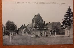 Carpiquet La Place De L Eglise E20 - Francia
