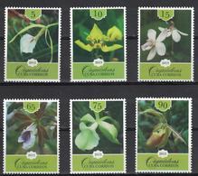 2013 Flowers - Orchids  (MNH)  - Flowers, Orchids - Végétaux