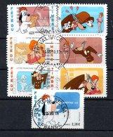 B50 France Avec Oblitérations Rondes N° 4149A à 4152 - Oblitérés