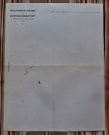 """RARE 55 ROMAGNE SOUS MONTFAUCON """" Lhotte Dumarchey BOULANGERIE PATISSERIE """" - 1900 – 1949"""