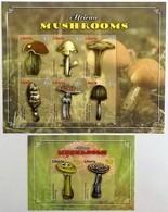# Liberia 2011**Mi.5830-37  Mushrooms , MNH  [11;234] - Pilze