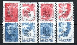 B224 France Avec Oblitérations Rondes N° 4197 à 4204 - Oblitérés
