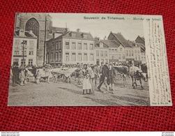 TIENEN  -  TIRLEMONT  -  Marché Au Bétail  -  1904 - Tienen