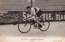 S4252 Cpa Cyclisme Sprinters Allemands Kaeser - Cyclisme