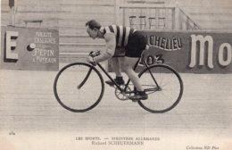 S4263 Cpa Cyclisme Sprinters Allemands Richard Scheuermann - Cyclisme