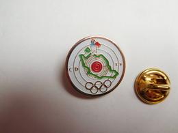 Beau Pin's , Tir , CD TV , Coq , Département , JO Anneaux Olympiques - Olympische Spiele