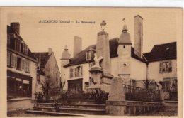 S4290 Cpa 23 Auzances - Le Monument - Auzances