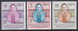 Sudan Soudan 1961 Gesellschaft Society Bildung Education Gleichberechtigung Mädchen Bücher Books Lesen, Mi. 172-4 ** - Sudan (1954-...)